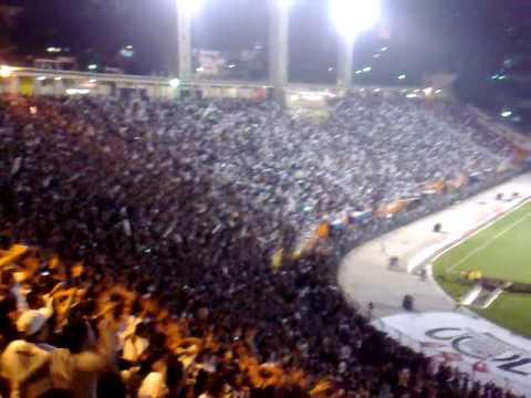 La hinchada del último campeón de la Copa Santander Libertadores