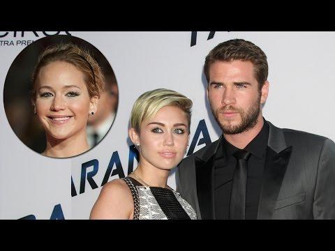 Liam Hemsworth Reveals J-Law's Role in Miley Cyrus Split