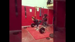 January Week 4 Deadlifts