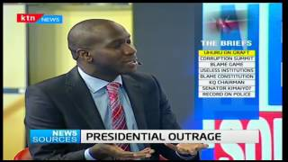 News Sources: President's outrage on graft, 18/10/2016