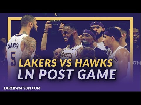 Video: Lakers Nation Discussion: Lakers Beat the Hawks, Tyson Game Winning Block, LeBron Misses Free Throws
