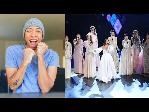 Video idina menzel, aurora - Into the Unknown (live from the 92nd academy awards) | reaction & review download in MP3, 3GP, MP4, WEBM, AVI, FLV January 2017