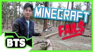 Video Real Life Minecraft Fails (BTS) MP3, 3GP, MP4, WEBM, AVI, FLV Maret 2019
