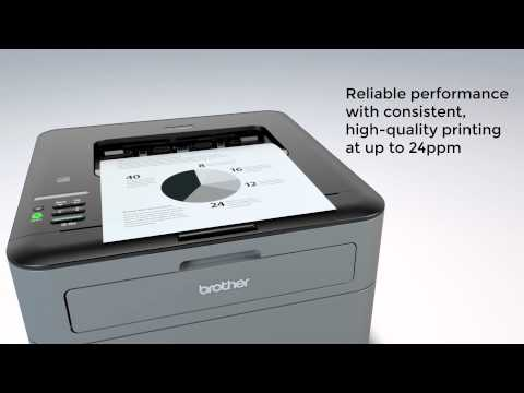 Compact Laser Printer with Wireless Networking   Brother™ HL-L2305W