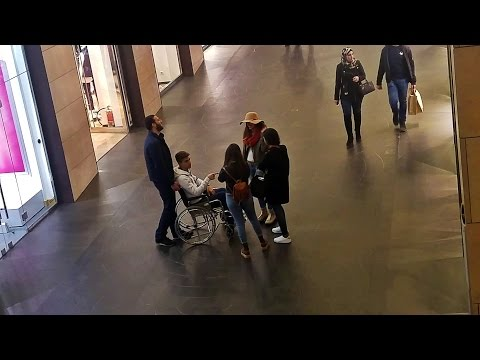 Video Picking Up Girls In a Wheelchair download in MP3, 3GP, MP4, WEBM, AVI, FLV January 2017