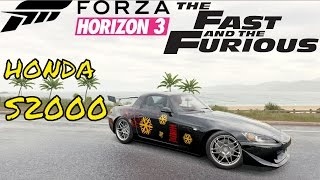 Nonton The Fast and The Furious Honda S2000 Johnny Tran - Forza Horizon 3 Film Subtitle Indonesia Streaming Movie Download