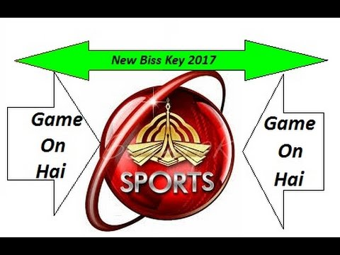 PTV Sports New Biss Key 2017 How To Add in HD Receiver in URDU / HINDI