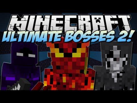 Minecraft | ULTIMATE BOSSES 2! (Bosscraft!) | Mod Showcase [1.6.2]