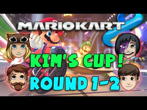 kim - Welcome to Kim's Cup in Mario Kart 8! In Round 1-2, Trott, Sjin and Hannah go up against Kim in the race for a podium position! Who will make it to the final round? Next Episode: https://www.youtu...