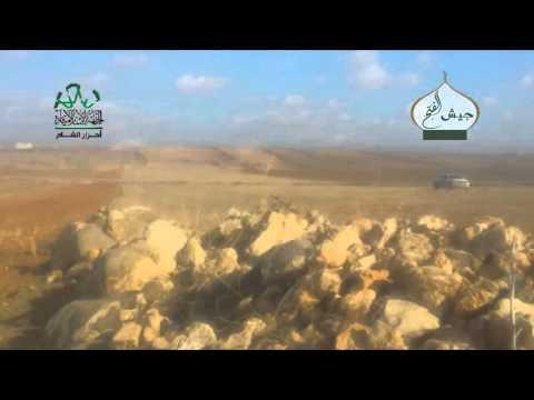 حلب: استهداف ميليشيات الأسد في قرية الجعارة بريف حلب الجنوبي الشرقي بصواريخ والرشاشات