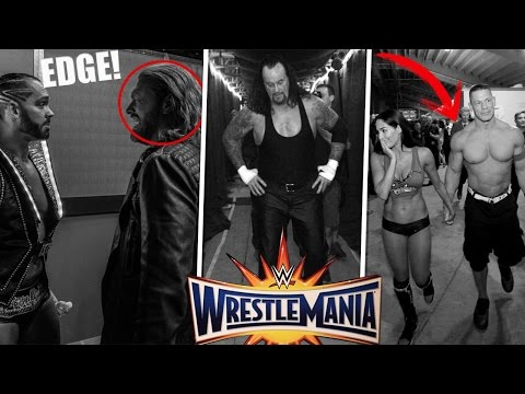 20 Fotos Emotivas En El Backstage De Wrestlemania 33