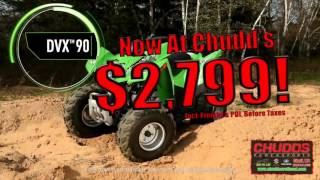 7. Arctic Cat DVX 90 For Sale at Chudd's