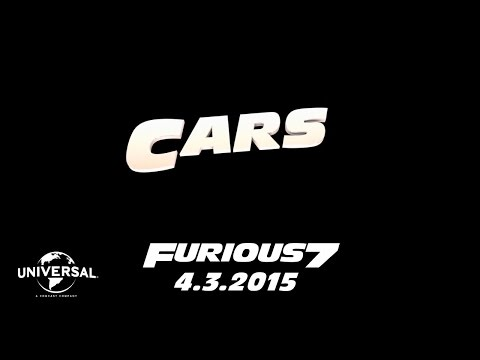 Furious 7 (Road to Furious 7 'Cars')