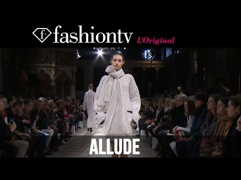 fashiontv - http://www.FashionTV.com/videos PARIS - FashionTV brings you the Allude Fall/Winter 2014-15 runway show from Paris Fashion Week. Music: Steve Aoki & Angger D...