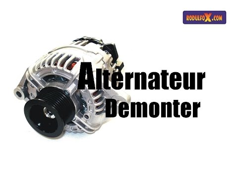 comment demonter alternateur twingo