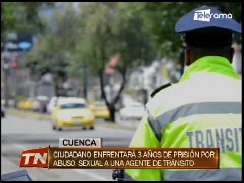 Ciudadano enfrentará 3 años de prisión por abuso sexual a una agente de tránsito