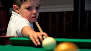 Meet Keith O'Dell, a bonafide pool playing prodigy. At just five years old, Keith pockets balls like a pro. The sport is in Keith's ...