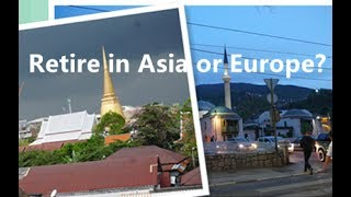In this video talking about plus and mines to retire in Sarajevo and Southeast Asia, give examples in living costs, culture, religion, food, transportation etc. Travel With Daniel, find a place to retire.