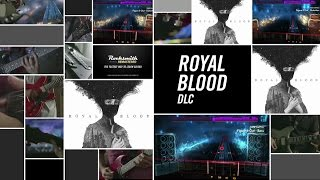 "Learn to play 3 hard rock hits from English rock duo Royal Blood! ""Figure It Out,"" ""Little Monster,"" and ""Out Of The Black"" will be available today on Xbox Live, PlayStation Network, and Steam. The songs may be posted later for players in territories served by the European PlayStation Store due to differences in publishing times. See the tunings and arrangements below. ""Figure It Out"" – E Standard – Bass/Lead/Alt Lead/Rhythm""Little Monster""  – C Standard  – Bass/Rhythm/Alt Lead/Alt Bass; E Standard - Lead""Out Of The Black"" – D Standard – Bass/Lead/RhythmFor more information, visit http://www.rocksmith.com"