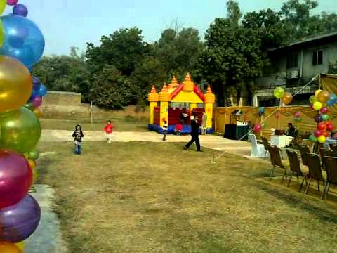 Best Birthday Planner with balloons decoration and more fun for kids in Lahore Pakistan.