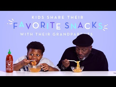 Kids Share Their Favorite Snacks with Their Grandparents | Kids Try | HiHo Kids