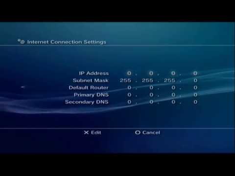 Proper PS3 Network Configuration | Jason Koblovsky