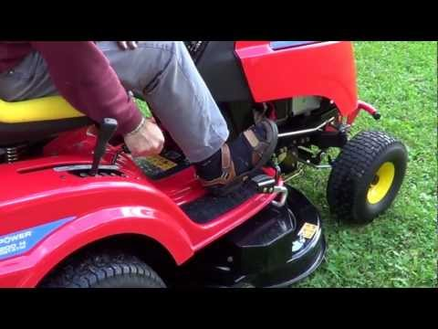 Tracteur-tondeuse Wolf Garten démo.MTS
