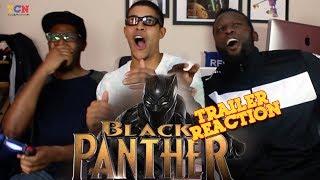 Video Black Panther Teaser Reaction MP3, 3GP, MP4, WEBM, AVI, FLV Juli 2018