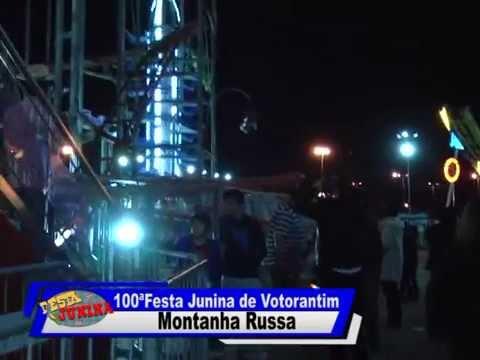 100ª Festa Junina de Votorantim - Montanha Russa