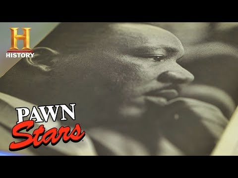 Pawn Stars: Anti-War Pamphlet Signed by Martin Luther King, Jr. (Season 15)   History