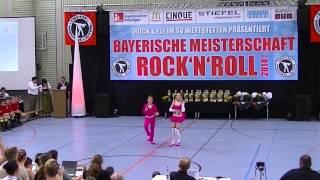 Anna-Lena Lindner & Nico Schambeck - Bayerische Meisterschaft 2014