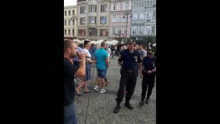 Kompletnie ich zagiął i nie wiedzieli co zrobić! Uliczny raper z Bydgoszczy kontra Straż Miejska!