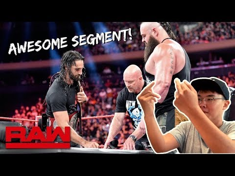LIVE REACTION: Stone Cold Moderates Universal Title Match Contract Signing | Raw Sept 9 2019