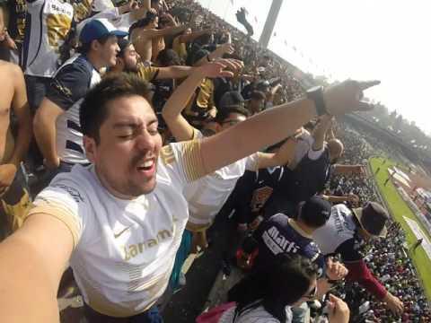 La Rebel Pumas vs America 6 dic 2015 semifinales - La Rebel - Pumas - México - América del Norte