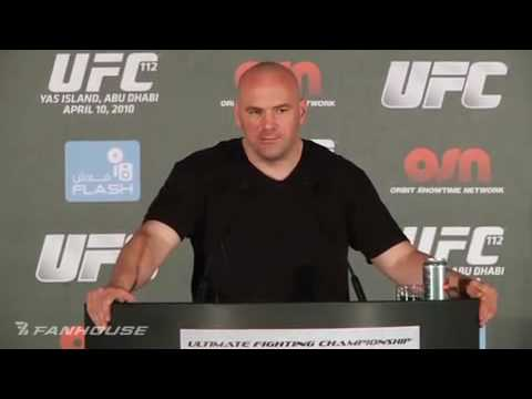 "UFC 112 Dana White: "" Anderson Silva Doesn't Deserve a GSP Fight after that Performance"""