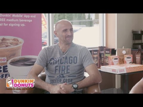 Video: Cup of Dunkin' with Aleksandar Sarić