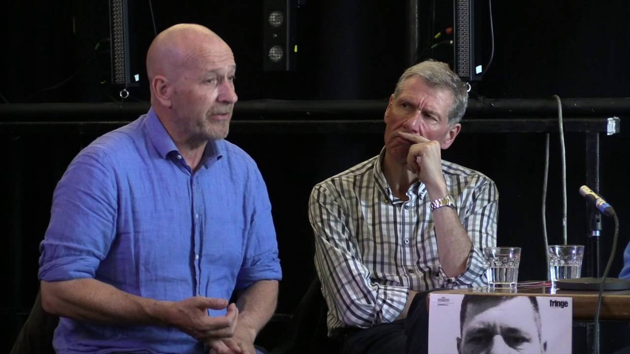 Jean-Marc Mahy & Thomas McCrudden, A Man Standing and Doubting Thomas Discussion : Life in prison and on the outside (video 57′)
