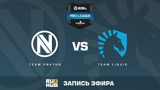 Team EnVyUs vs. Team Liquid - ESL Pro League S5 - map1 - de_cobblestone [yXo, SleepSomeWhile]
