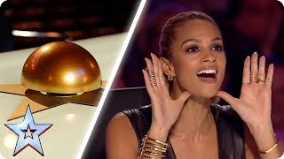 Video Alesha Dixon's BEST GOLDEN BUZZERS | Britain's Got Talent MP3, 3GP, MP4, WEBM, AVI, FLV Desember 2018