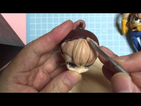 09-1Mr.スカルプトクレイお試し造形「前髪」