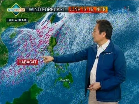 24 Oras Weather update as of 715 p.m. June 13, 2018