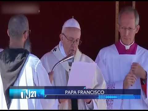Opinión Papa Francisco - TN21 16.10.17
