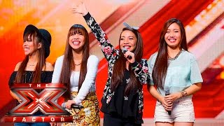 Video 4th Power raise the roof with Jessie J hit | Auditions Week 1 | The X Factor UK 2015 MP3, 3GP, MP4, WEBM, AVI, FLV April 2019