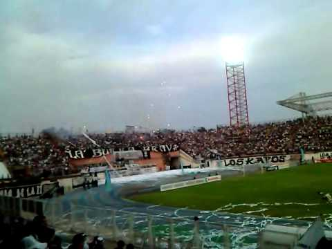 Recibimiento. Zamorar F.C vs Deportivo Anzoategui - La Burra Brava - Zamora