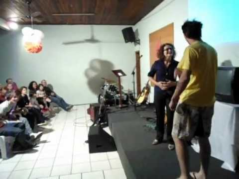 Teatro Uma Comédia para o dia das Mães na Igreja Metodista em Blumenau-SC em 13/05/12