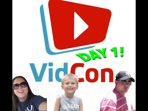 VIDCON 2015 Day 1 | Meeting Up With YouTube Friends And Our Family Dinner