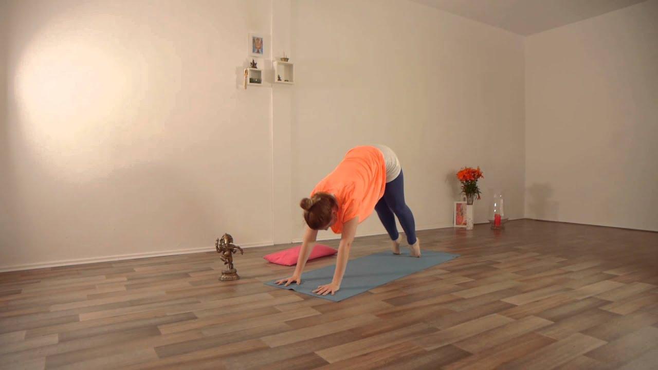 Ruhige Yoga-Session mit Saskia von GLOW