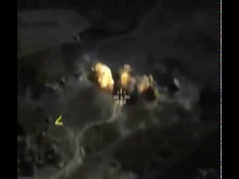 Точечный удар бетонобойной бомбой БЕТАБ-500У