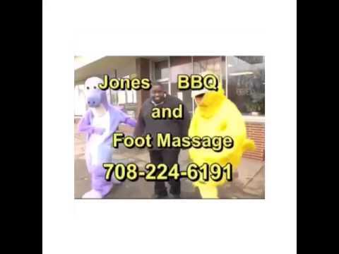 jones bbq and foot masage