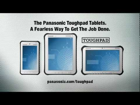Introducing Panasonic Toughpad Tablets